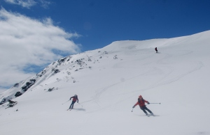 Baietii la ski